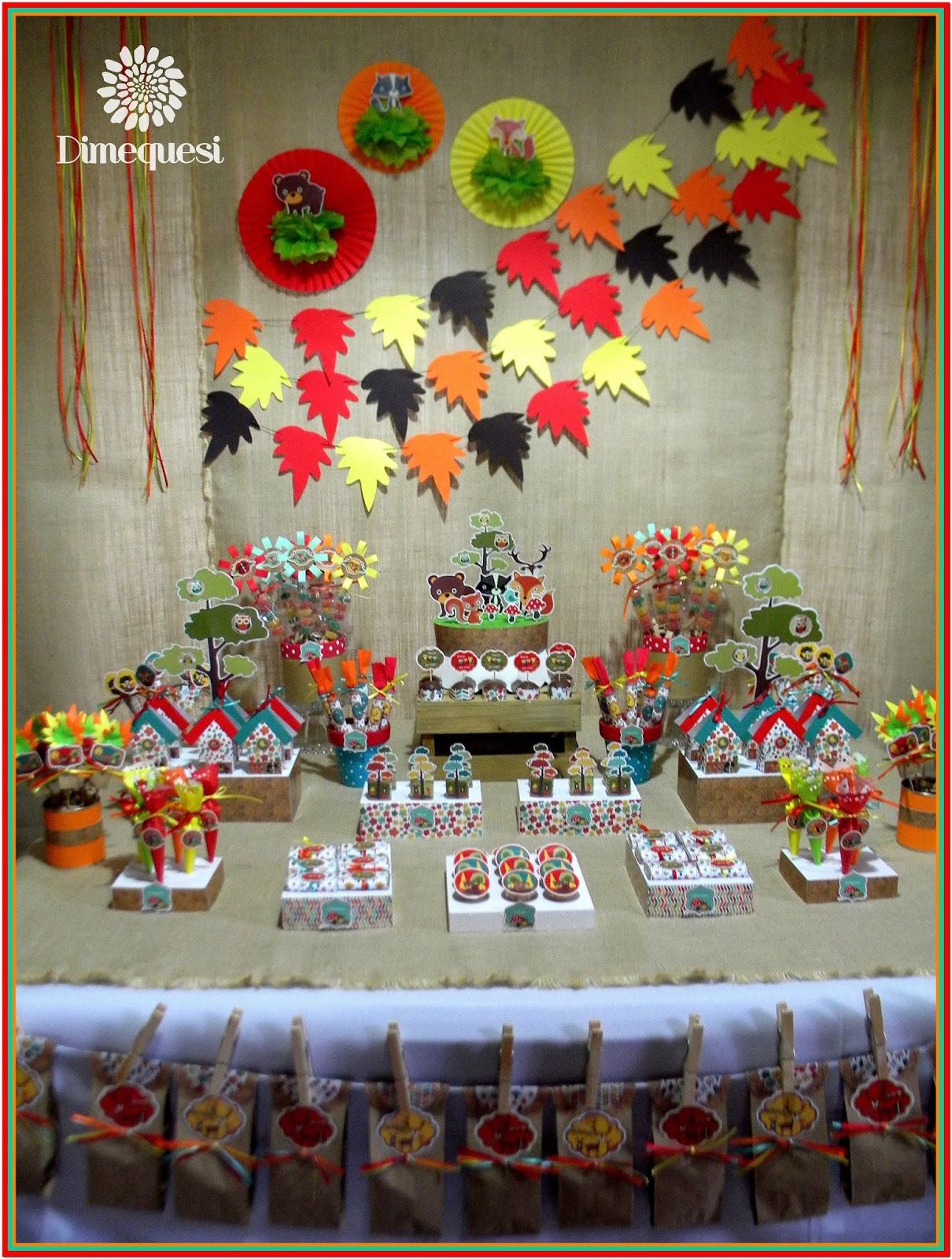 Dimequesi Fiesta En El Bosque Imprimible Gratis Woodland Party
