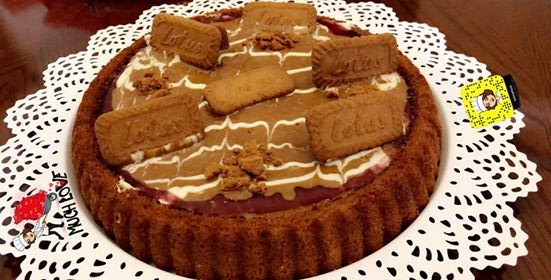 وصفة سله لكيكة اللوتس