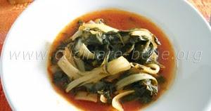 Ricetta di verdure bietole al pomodoro cucinare bene for Cucinare bietole