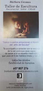 Clases de Arcilla impartidas por Bárbara Cevasco.