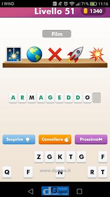 Emoji Quiz soluzione livello 51