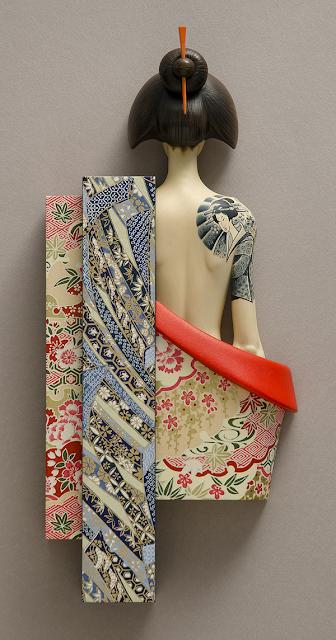 Green Pear Diaries, arte, escultura, John Morris, Reveal, revelar