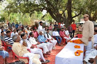 जैदपुर से सपा विधायक गौरव रावत ने किया खड़ंजा निर्माण कार्य का उद्घाटन