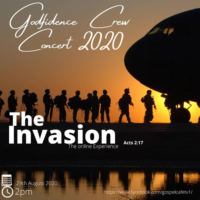 THE INVASION (The Online Experience) - Godfidence Crew Concert 2020