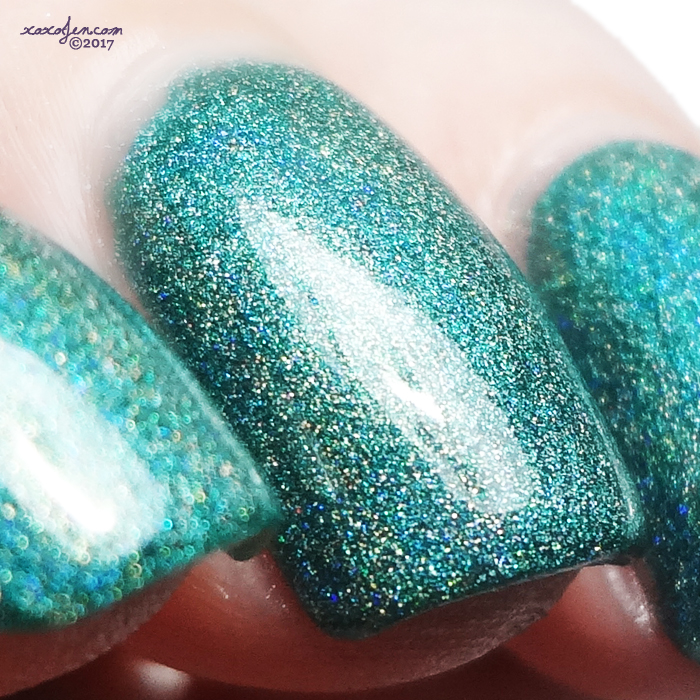 xoxoJen's swatch of KBShimmer Fir Sure