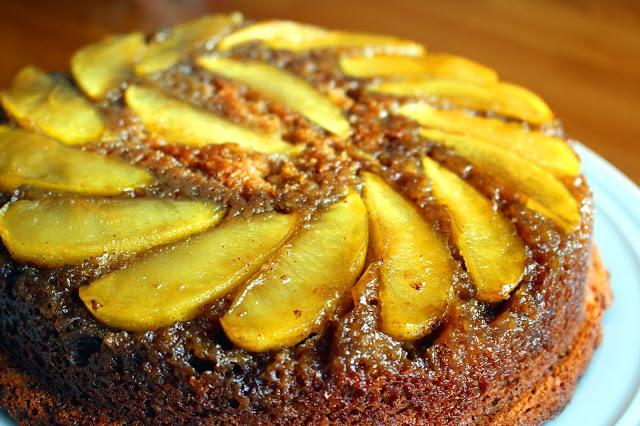 Apple Upside Down Cake Joy Of Baking