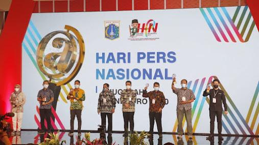Hadiri Hari Pers Nasional, Anies Ajak Insan Pers Perkuat Kolaborasi
