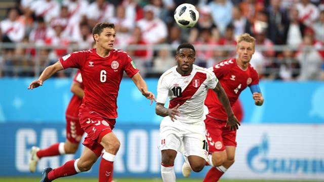 Peru vs Denmark - Piala Dunia 2018