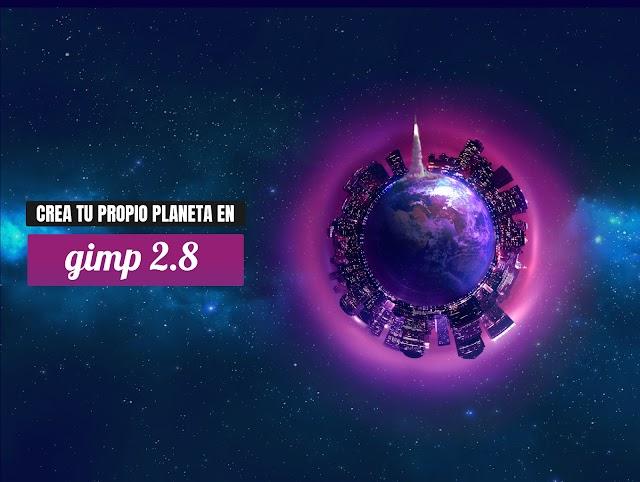 CREA TU PROPIO PLANETA EN GIMP 2.8