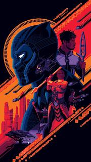Black Panther Mobile HD Wallpaper