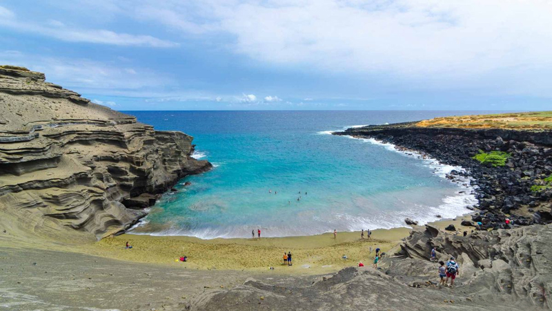 Papakōlea Beach, Hawaii, US