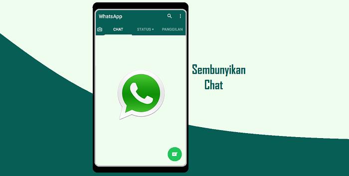 Cara Menyembunyikan Chat Percakapan di WhatsApp