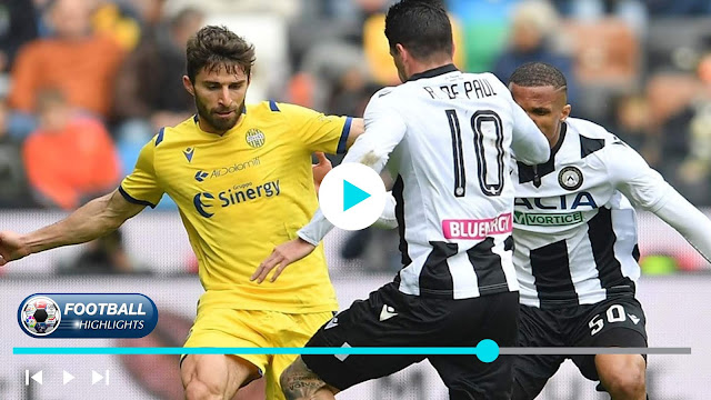 Udinese vs Hellas Verona – Highlights