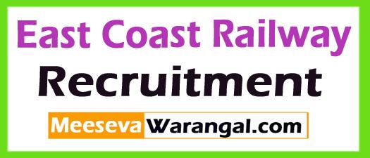 ECR (East Coast Railway) Recruitment