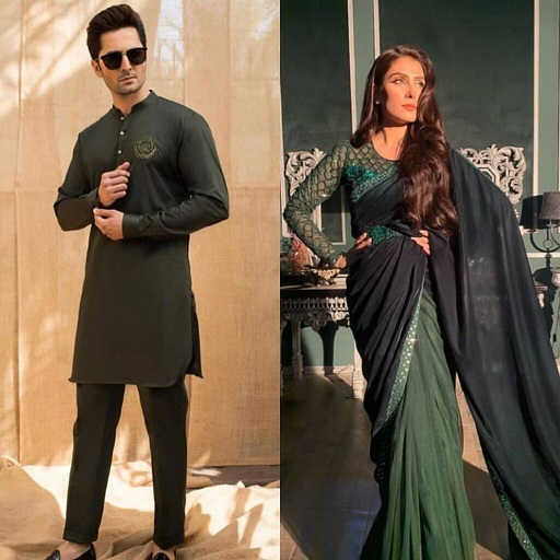 Danish Taimoor and Ayeza Khan Same Dress excellent Clicks 7