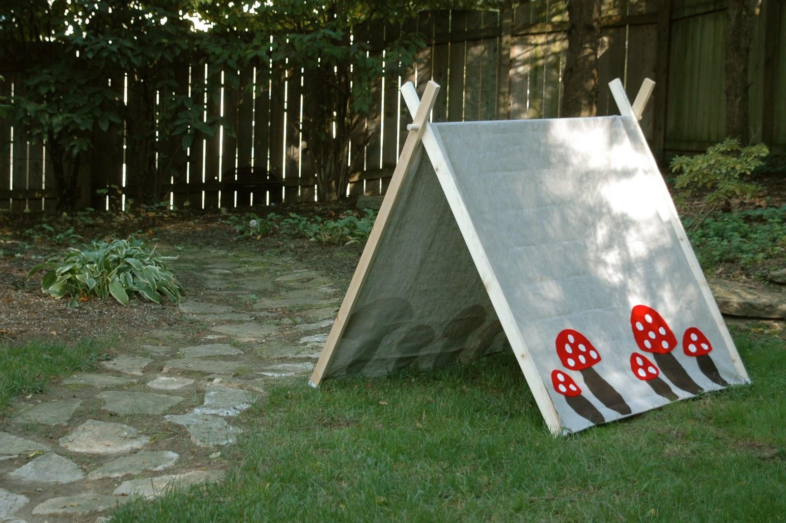 Nine Sixteen Handmade Children S Tent Diy