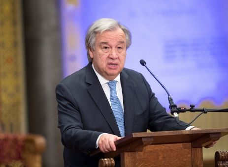 """Secretario general de la ONU lanza """"alerta roja"""" para 2018"""
