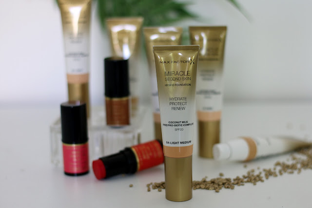 Max Factor Miracle Second Skin test