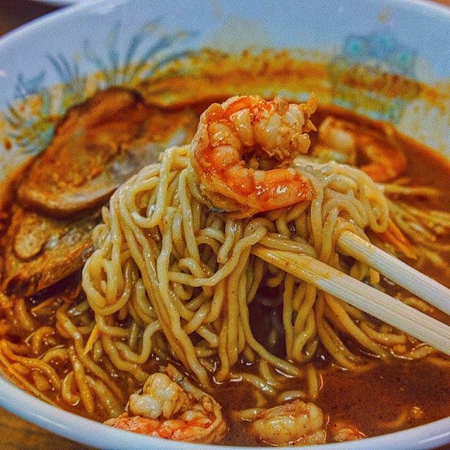 Tom Yam Seafood Ramen