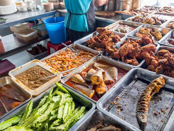 Famous Food in Alor Setar - Nasi Lemak Ong @ Jalan Putra, Alor Setar, Kedah