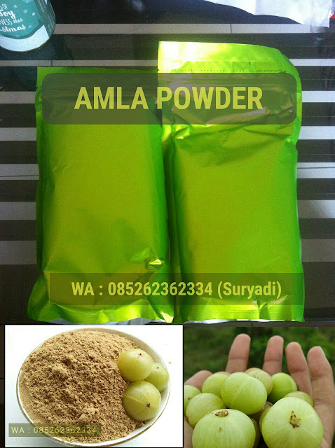 Jual bubuk amla atau amla powder atau bubuk kemloko atau bubuk malaka