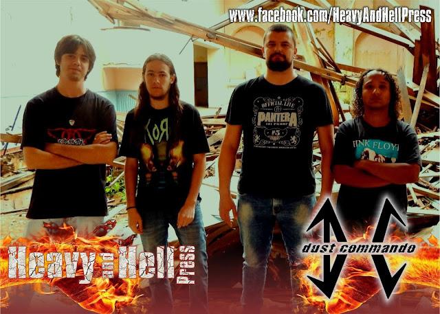 """Dust Commando: """"temos um público diferente no rock e no metal, e isto fica provado a cada festival..."""""""