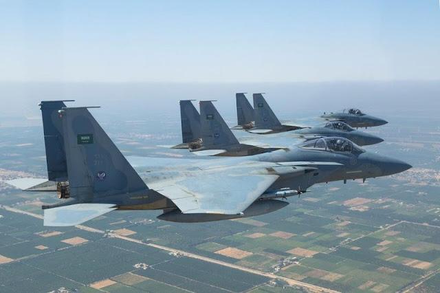 القوات الجوية السعودية تحتل المركز التاسع عالميا والاولى عربيا بسلاح جوي خارق