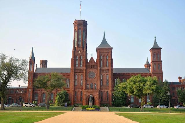 The Smithsonian houses Washington D.c, USA