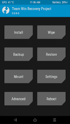 OFFICIAL TWRP Recovery 3.1.1-0