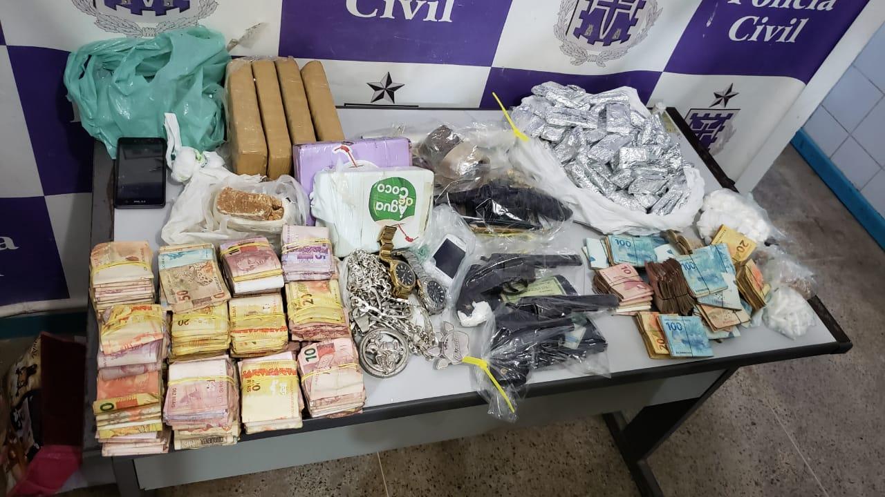 POLÍCIA CIVIL OPERA CONTRA O CRIME