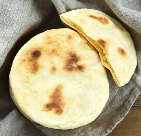 Gluten Free Pita Bread #whole30 #paleo #keto #glutenfree #easy