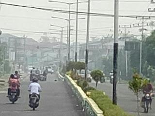 Kualitas Udara di Putussibau Masuk Kategori Tidak Sehat