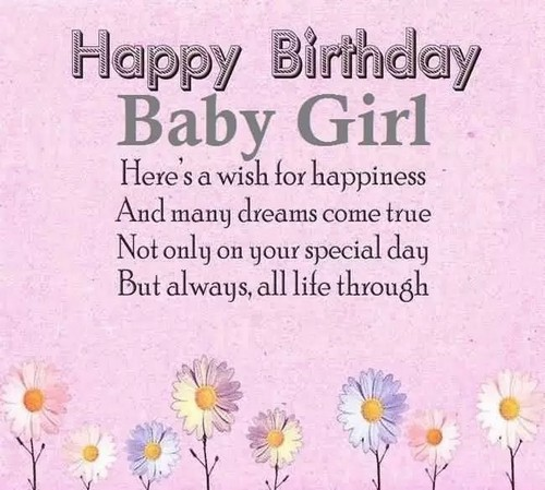 Happy Birthday Little Girl Images