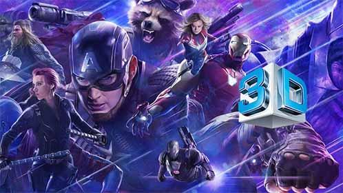 Avengers Endgame (2019) 3D SBS Full 1080p Latino-Castellano-Ingles