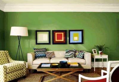 warna cat ruang tamu keren