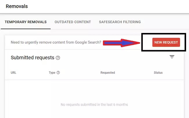 Google Webmaster Tool's Url Removal Feature