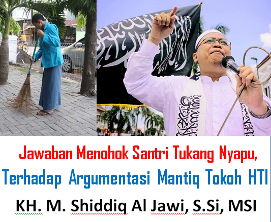 Kritik Pedas Untuk KH. M. Shiddiq Al Jawi, S.Si, MSI