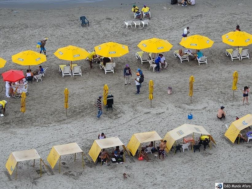 Praia de Bocagrande - Diário de bordo: 4 dias em Cartagena, Colômbia
