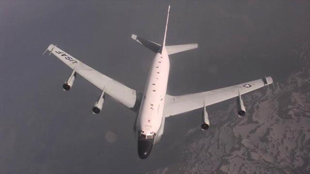 Cazas rusos persiguen ocho veces aviones espía de EEUU y OTAN