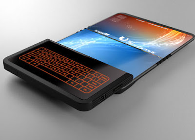 TALK WITH TECHNOLOGY TODAY: FOLDING SCREEN TECHNOLOGY REVEALED. PHONE OF THE FUTURE BEWARE!
