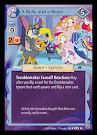 My Little Pony A Bully and a Beast Premiere CCG Card
