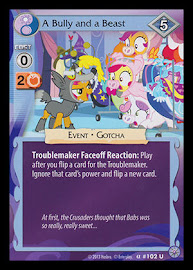 MLP A Bully and a Beast Premiere CCG Card