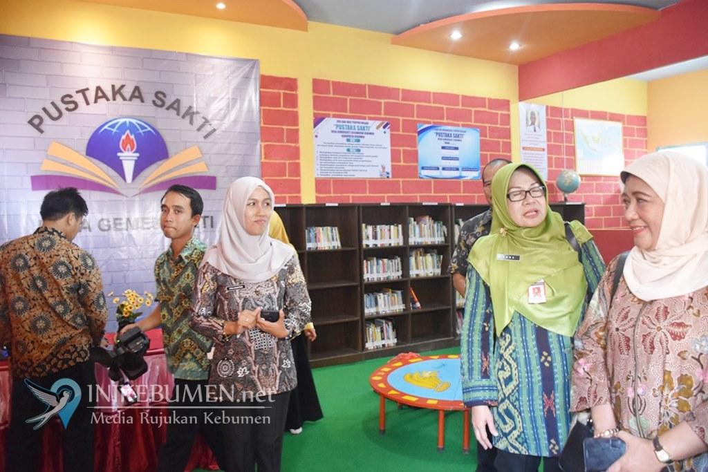 Wakili Kebumen, Perpustakaan Desa Gemeksekti Maju Lomba Tingkat Provinsi