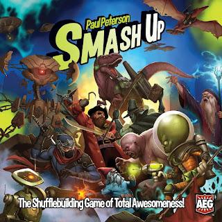 Opiniones del juego de mesa Smash Up