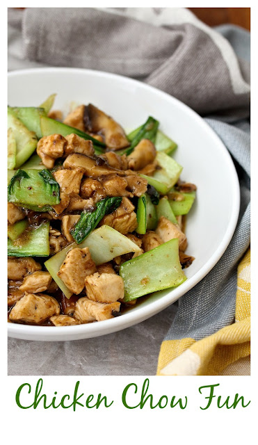 Chicken Chow Fun from Karen's Kitchen Stories