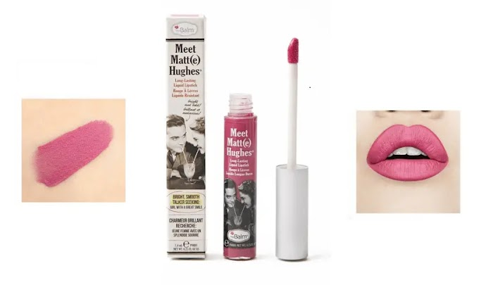 TheBalm Meet Matte Hughes Lip Color review