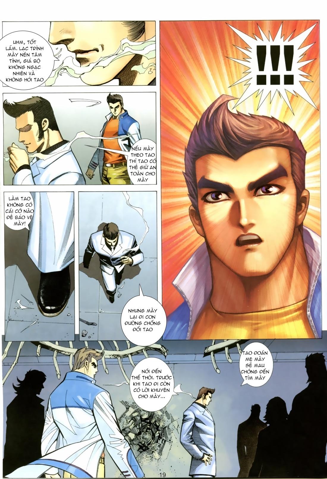 Xích Trụ Phạn Đường chap 22 - Trang 18