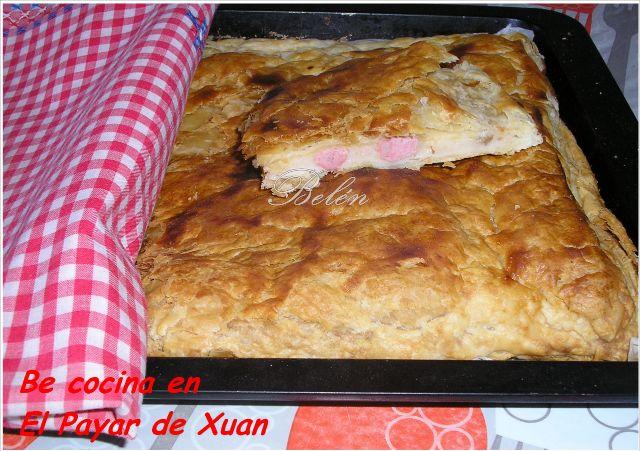 Empanada Pizza De Hojaldre