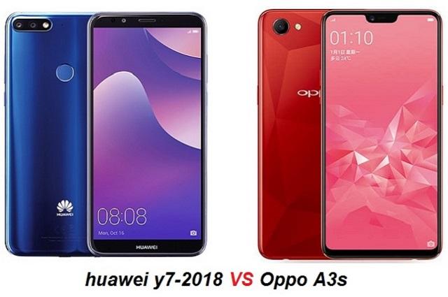 Oppo A3s أم Huawei Y7-2018 : أيهما أفضل ؟