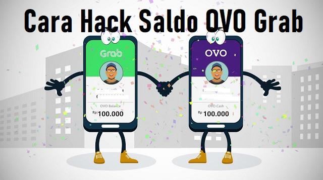 Cara Hack Saldo OVO Grab
